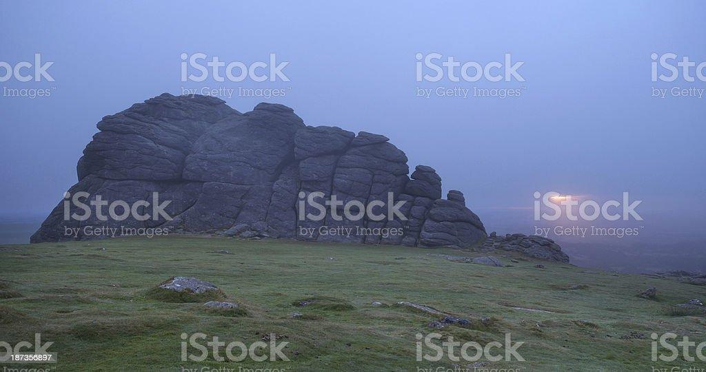 Dartmoor At Dawn stock photo