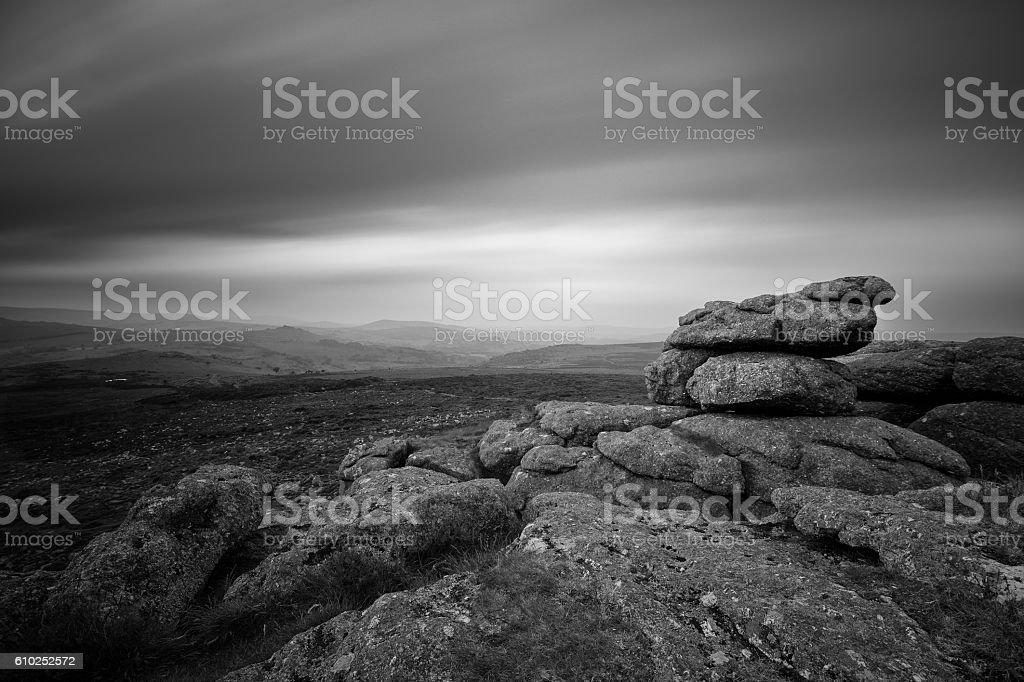 Dartmoor, Devon stock photo