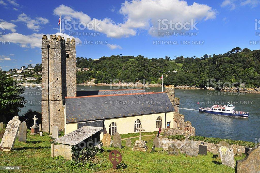 Dartmouth Castle stock photo