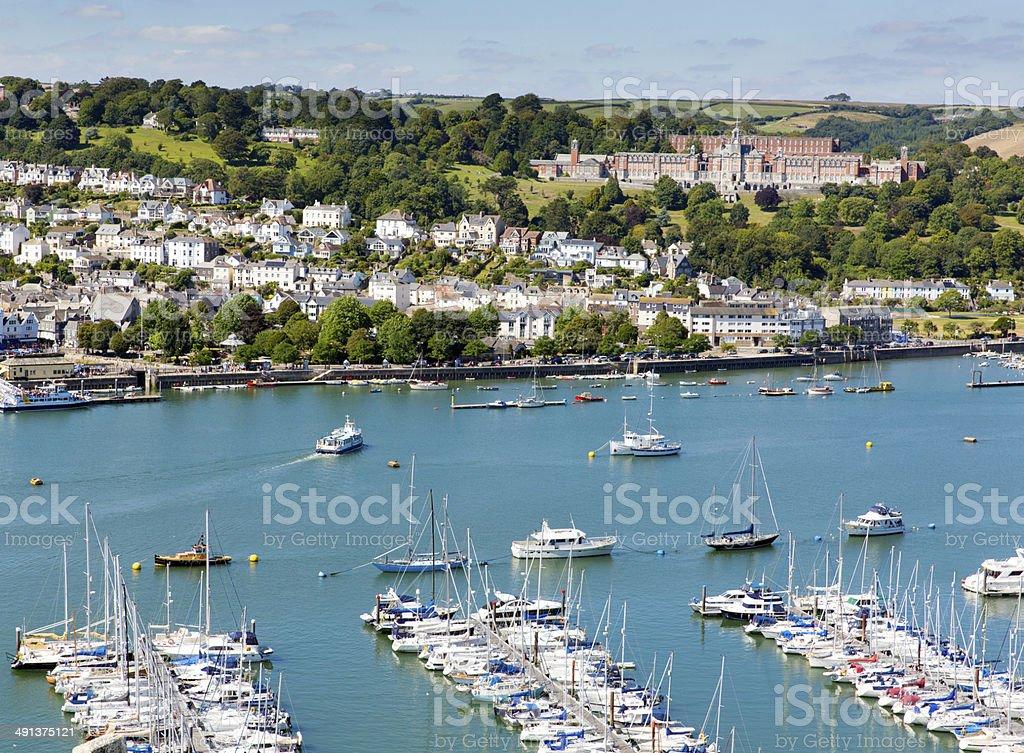 Dartmouth Devon England UK stock photo