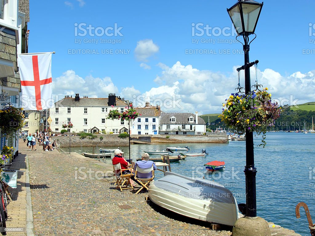 Dartmouth, Devon. stock photo