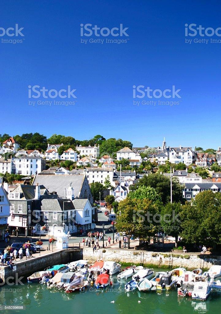 Dartmouth, Devon Uk stock photo