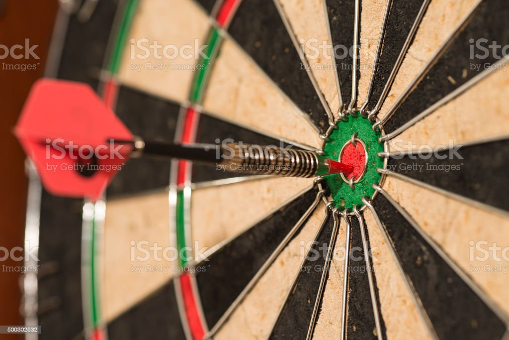 Darts 2 stock photo