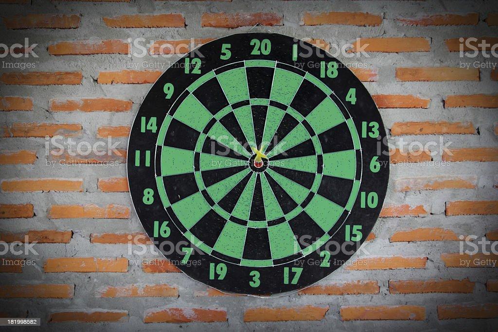 Darts 6 royalty-free stock photo