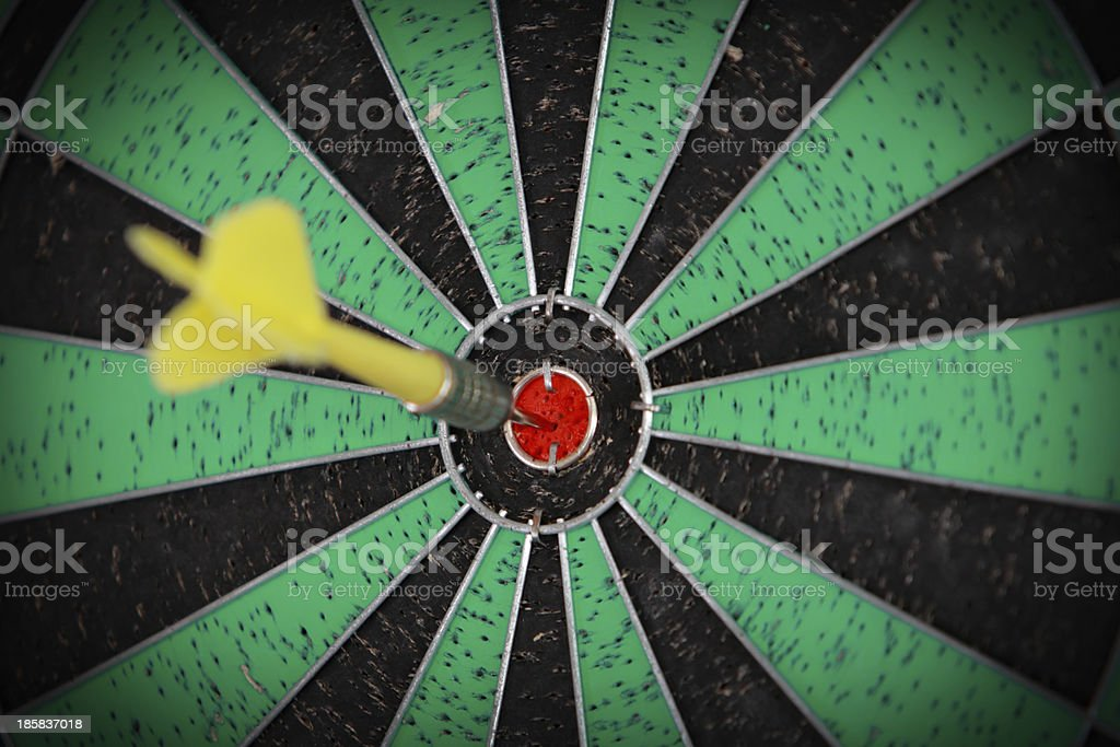 Darts 9 royalty-free stock photo