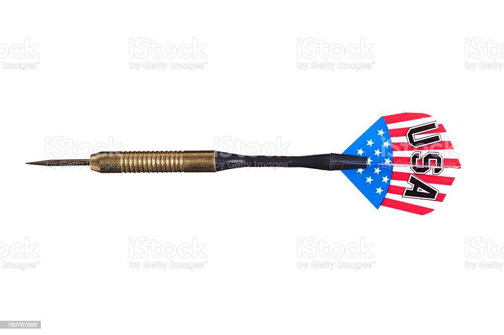 Darts arrow royalty-free stock photo