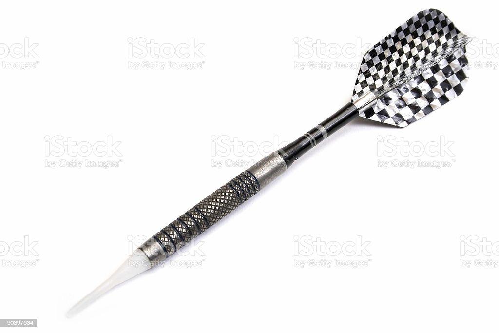 darts on white background royalty-free stock photo