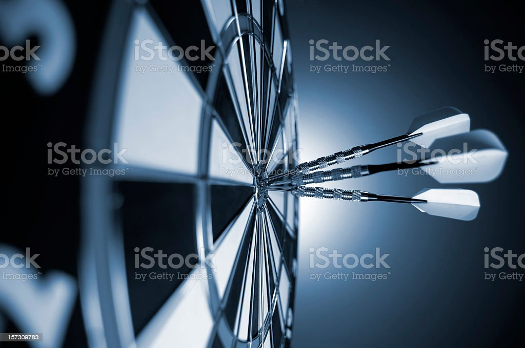 Darts royalty-free stock photo