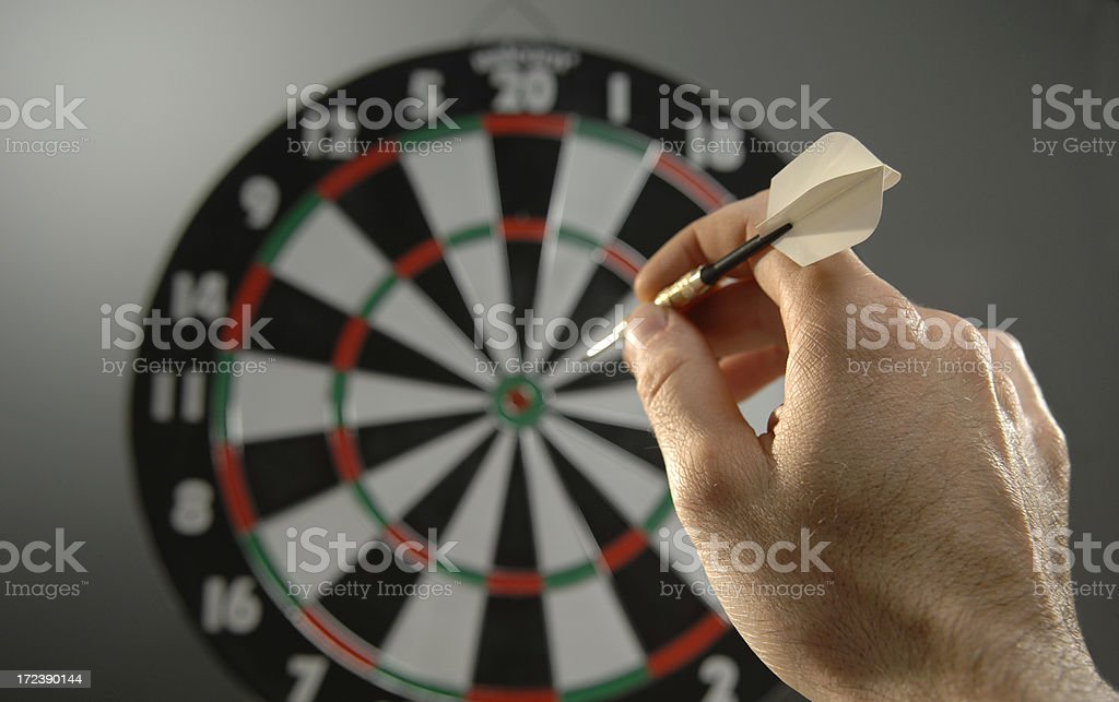 darts series stock photo