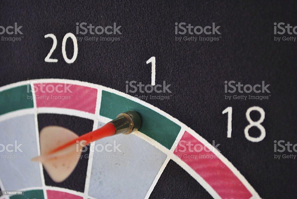 darts target royalty-free stock photo