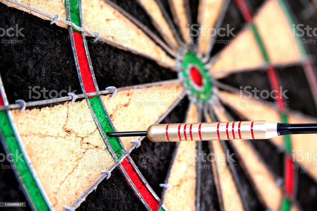 Darts Triple royalty-free stock photo