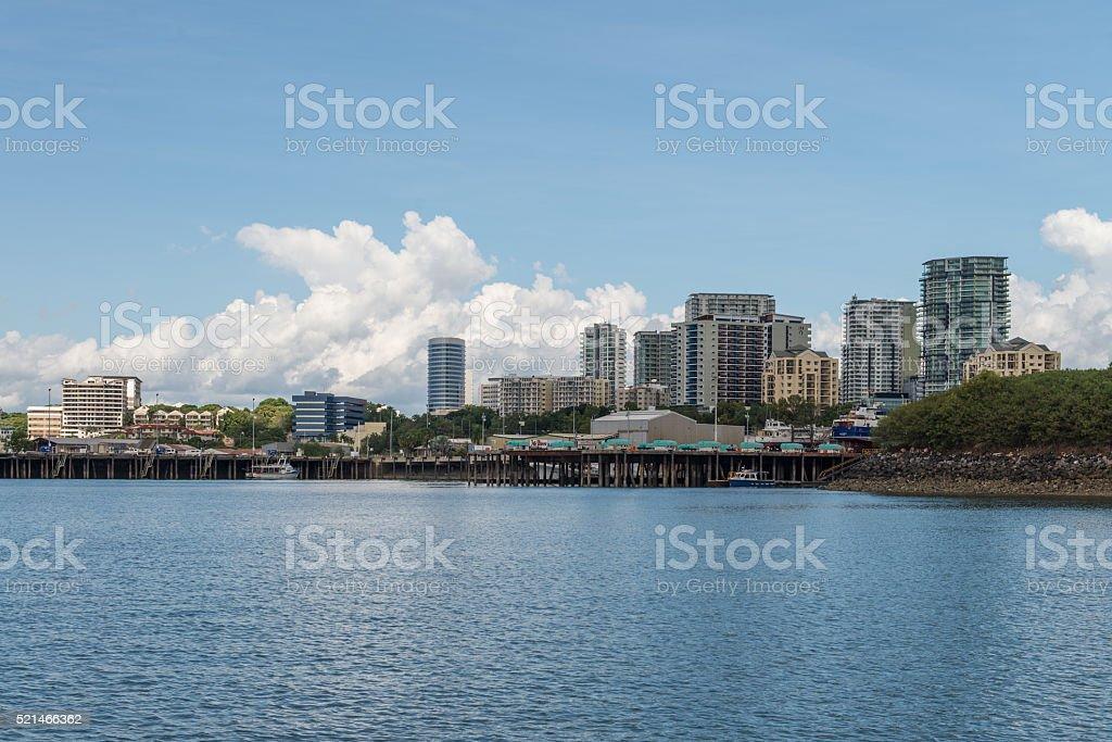 Darwin and Fishermans Wharf area stock photo