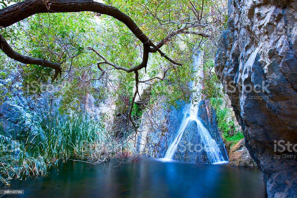 Darwin Falls royalty-free stock photo