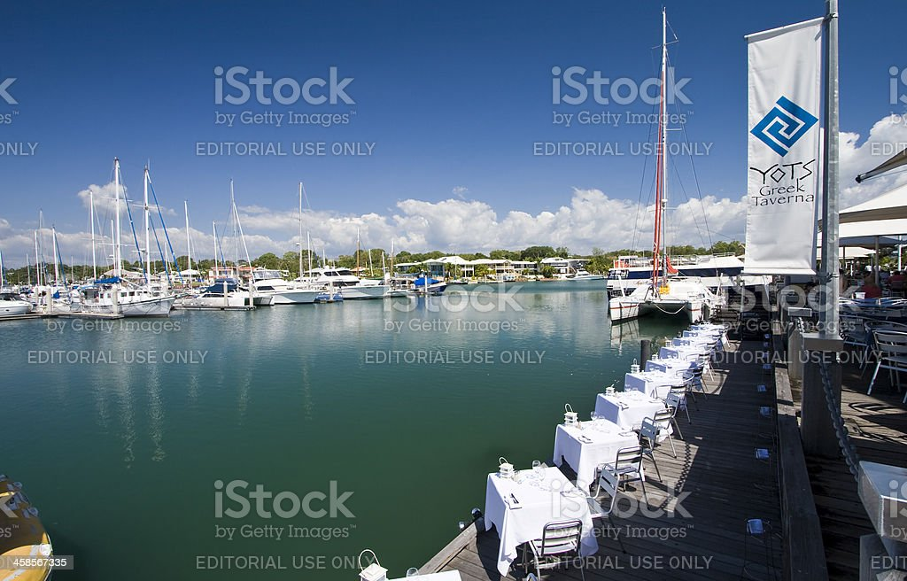 Darwin Waterfront Dining royalty-free stock photo