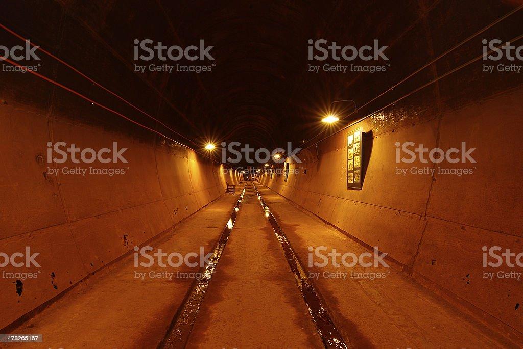 Darwin WWII Oil Storage Tunnels royalty-free stock photo