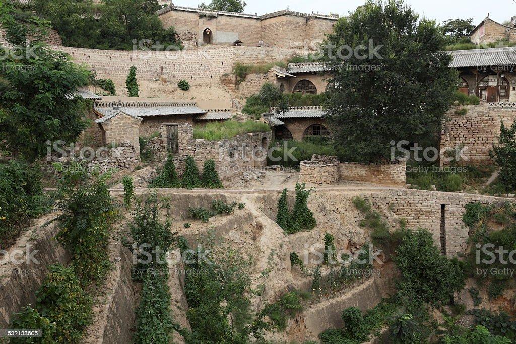 Das Berg und Bauerndorf Lijiashan in China stock photo