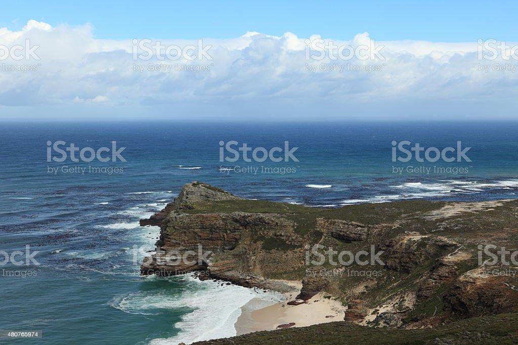Das Kap der Guten Hoffnung in Südafrika stock photo