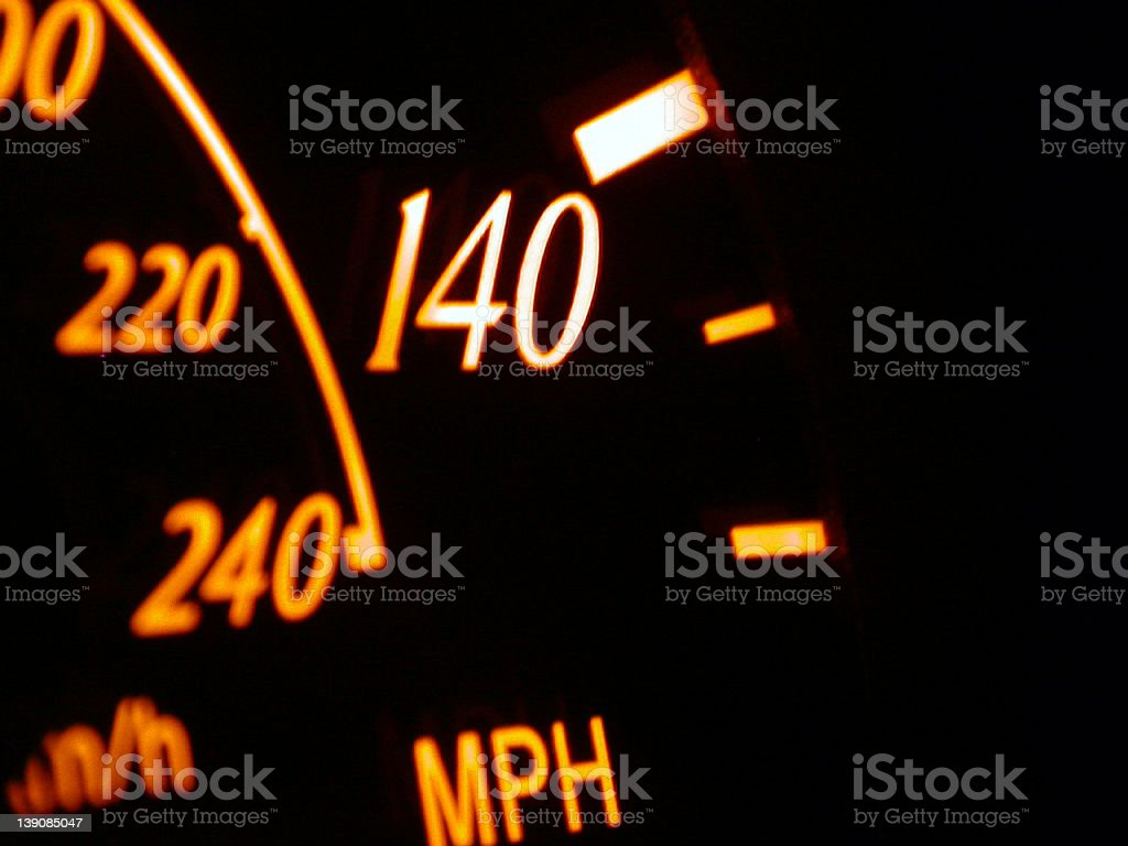 Dash Board Speedometer royalty-free stock photo