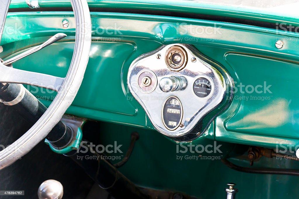 Armaturenbrett Und Lenkrad Eines Oldtimer Ford T Stockfoto ... | {Armaturenbrett oldtimer 68}