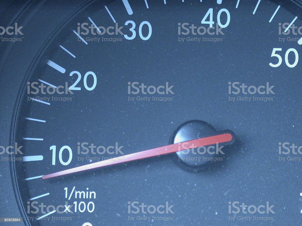 dashboard gauge royalty-free stock photo