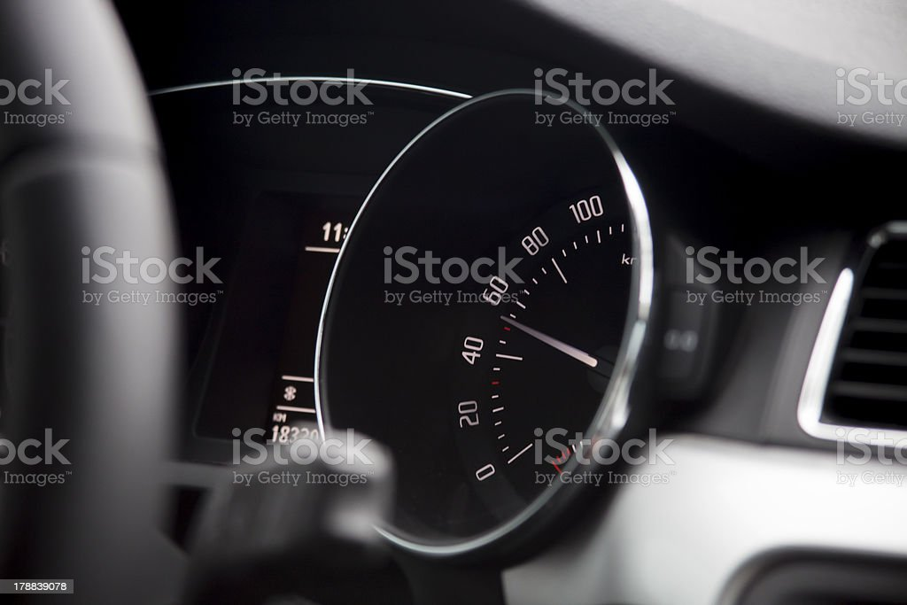 Dashboard royalty-free stock photo
