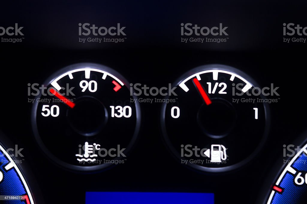 Dashboard stock photo