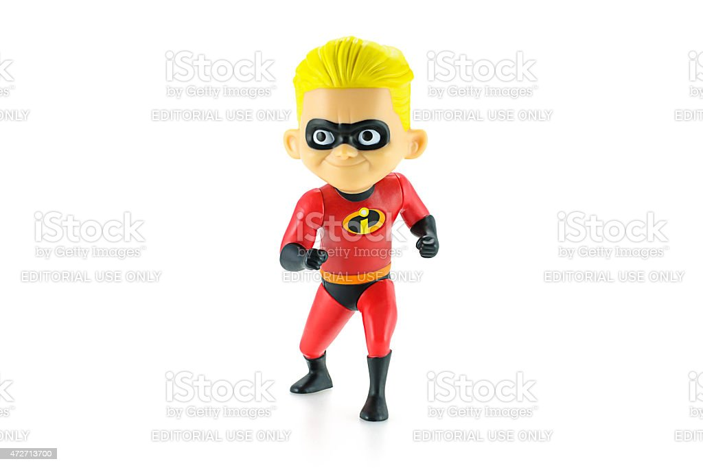 Dashiell Robert Parr figure toy character. stock photo