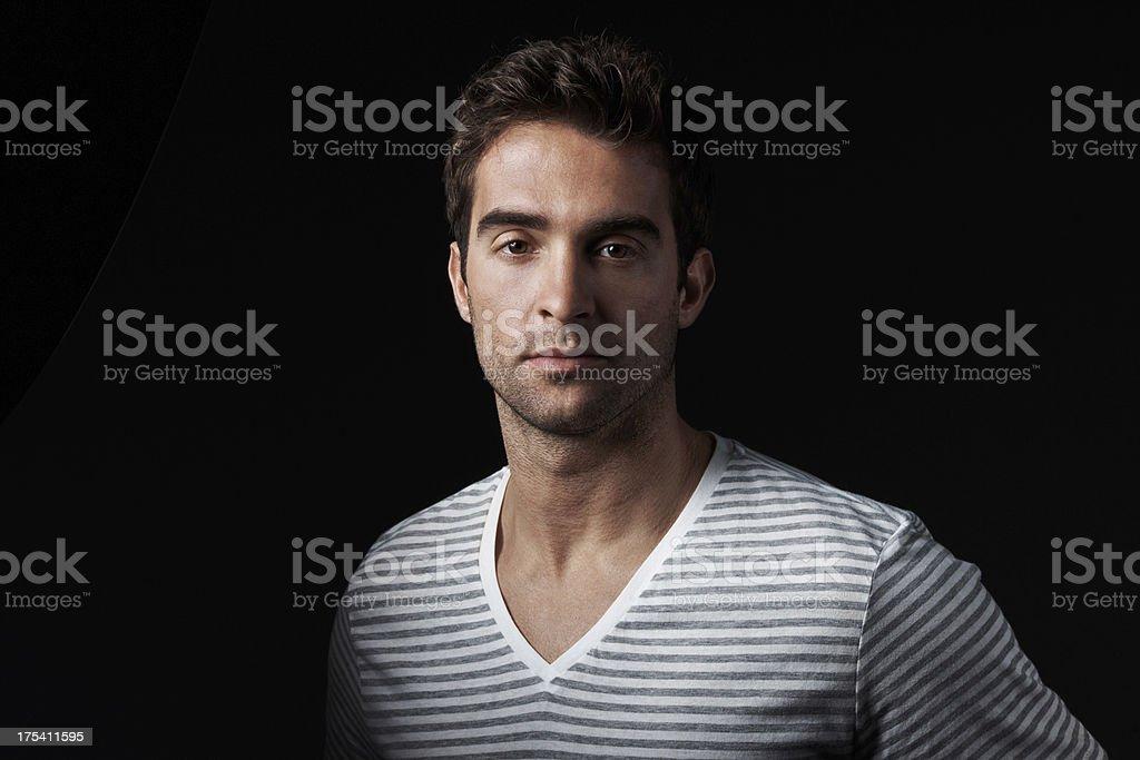 Dashing trendsetting young man royalty-free stock photo