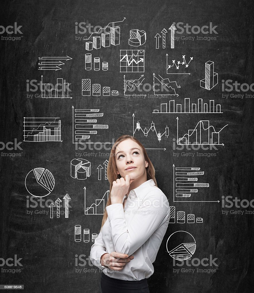 Data analysis stock photo