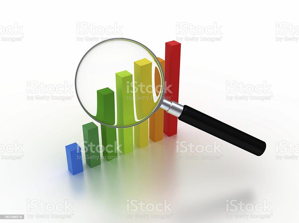 Data Analyzing stock photo
