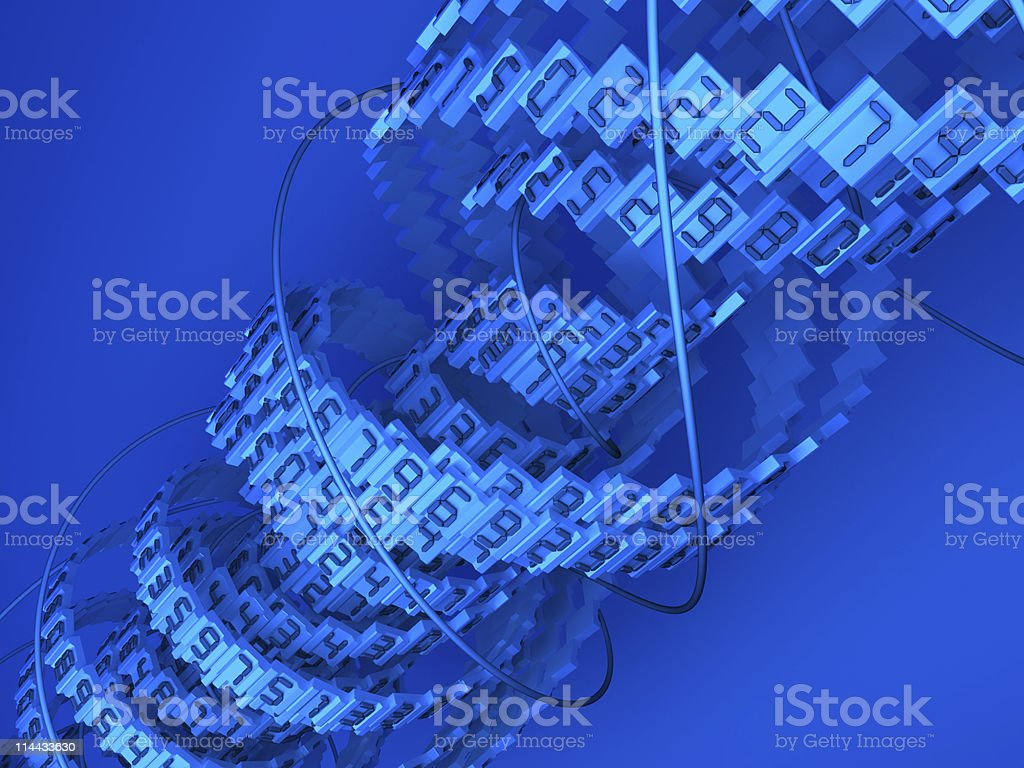 Data background royalty-free stock photo