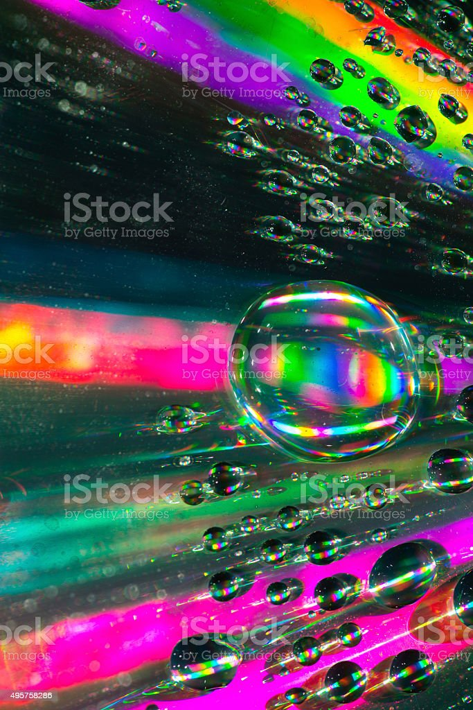 data carrier  under water  bubbles stock photo