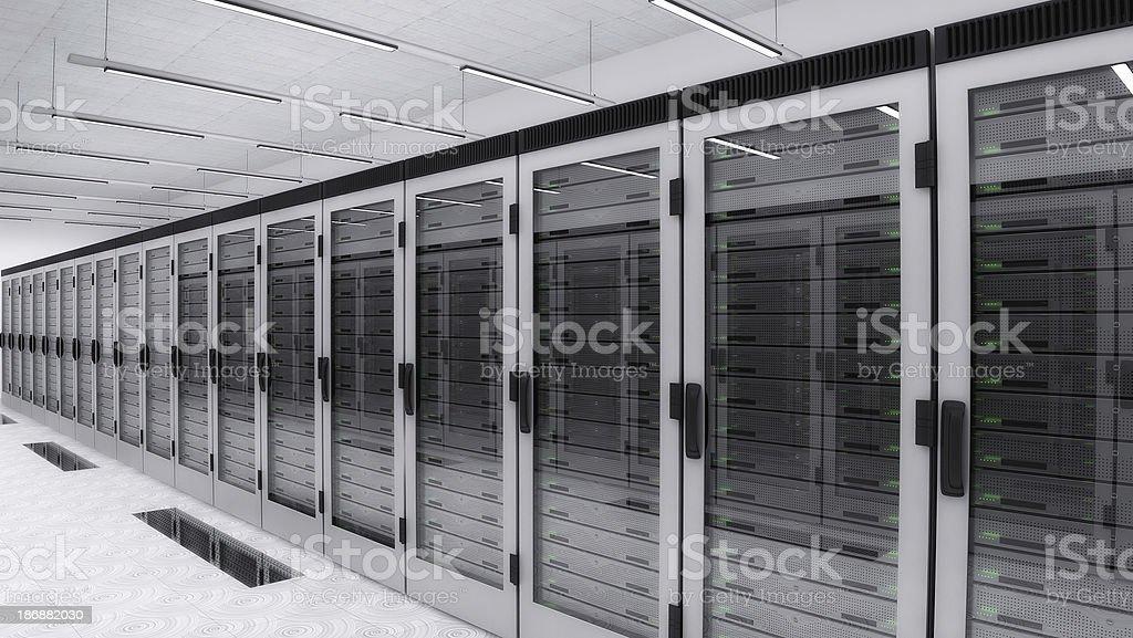 Data Centar royalty-free stock photo