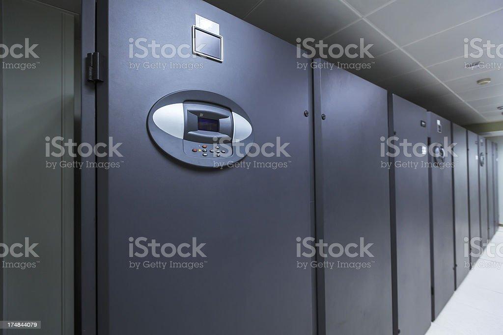 Data center equipment royalty-free stock photo