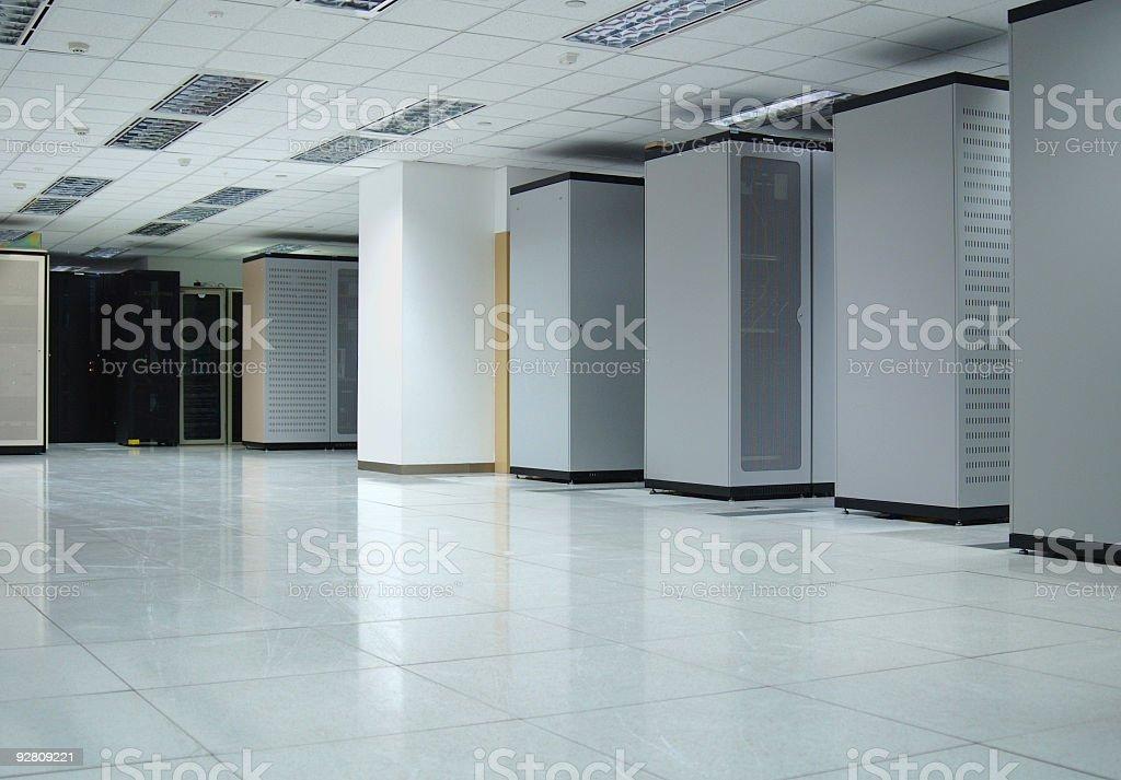 Data Center Interior royalty-free stock photo