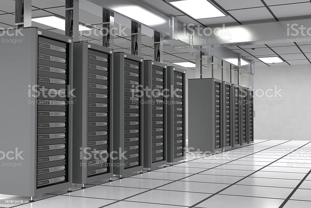 Data Center royalty-free stock photo