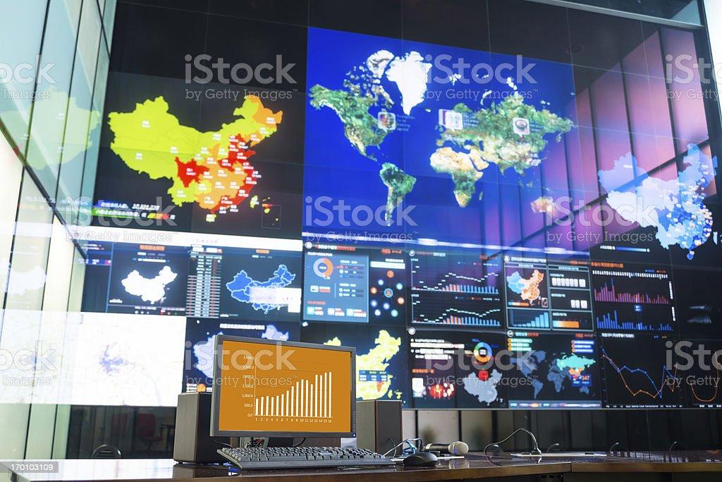 data center stock photo