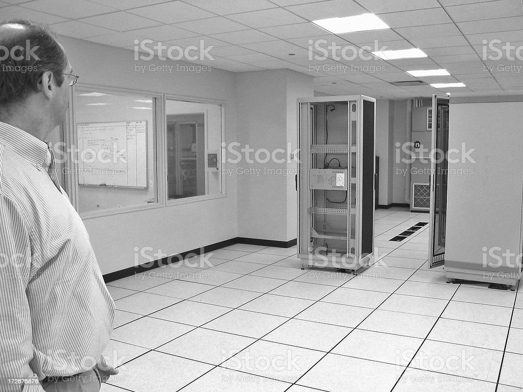 Data Center royalty-free stock photo