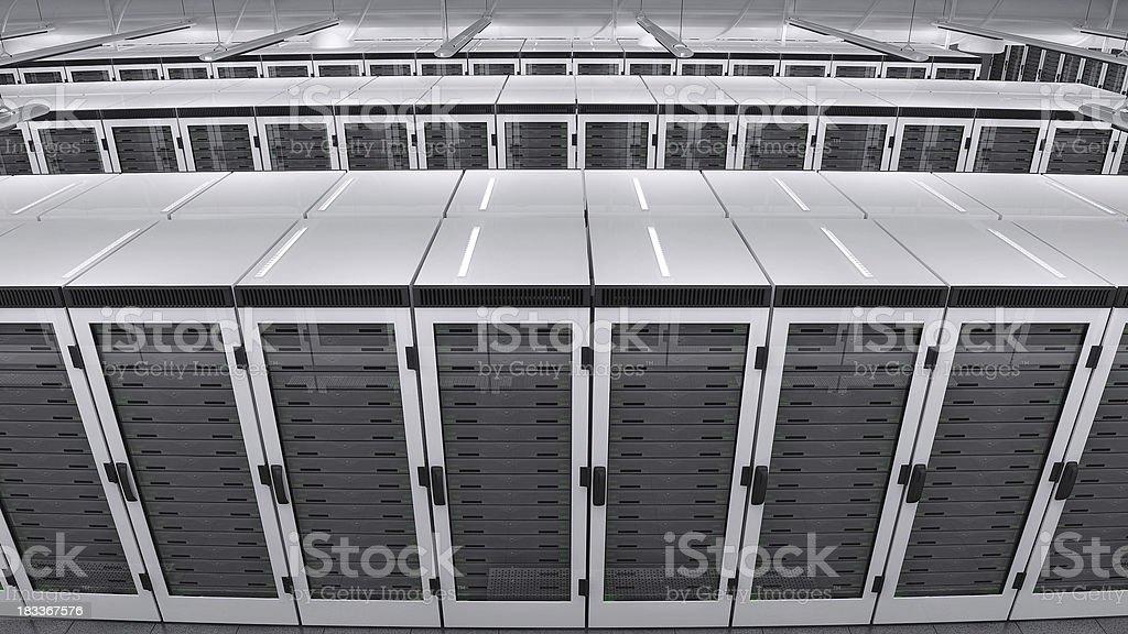 Data center top royalty-free stock photo