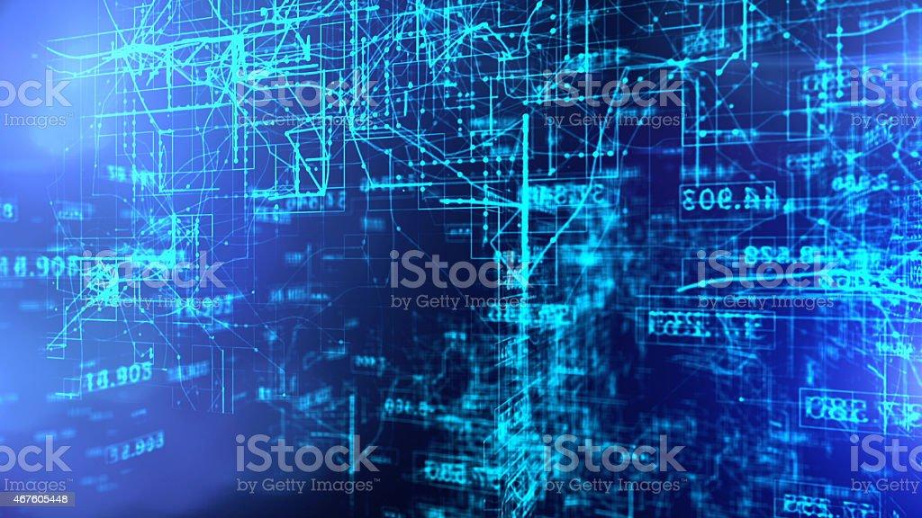 Data Code Digital Technology. stock photo
