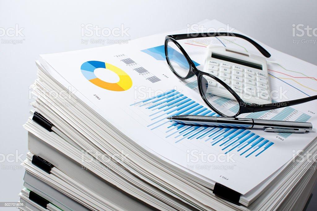Data management. Document management. Business concept. stock photo