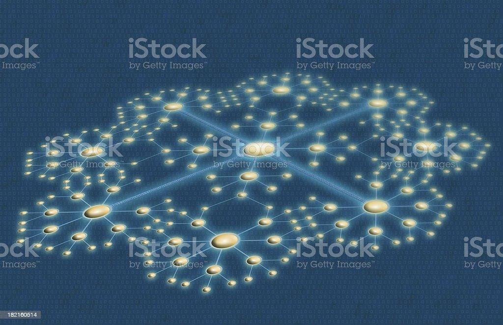Data Networking stock photo