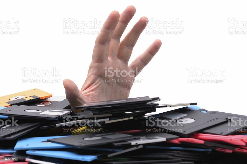 data overload royalty-free stock photo
