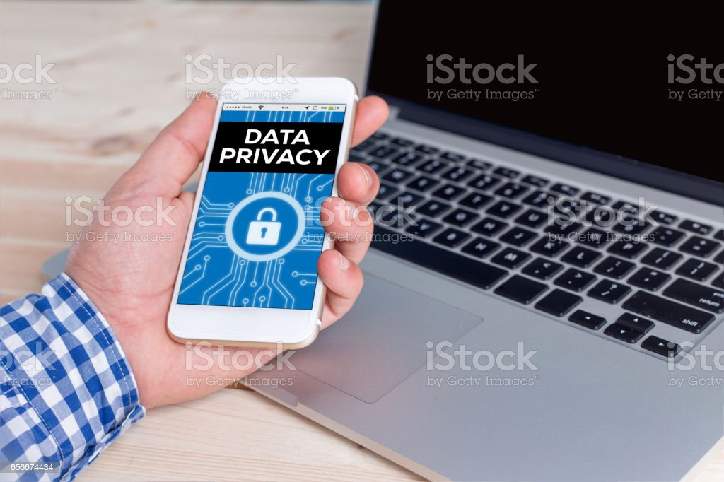 Data Privacy Concept stock photo
