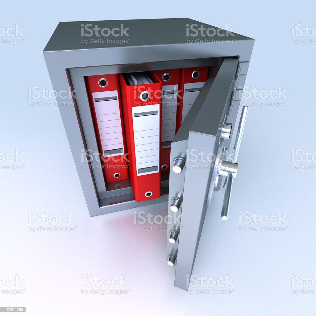 Data protection stock photo