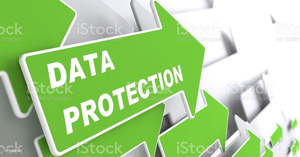 Data Protection. Security Concept. royalty-free stock photo