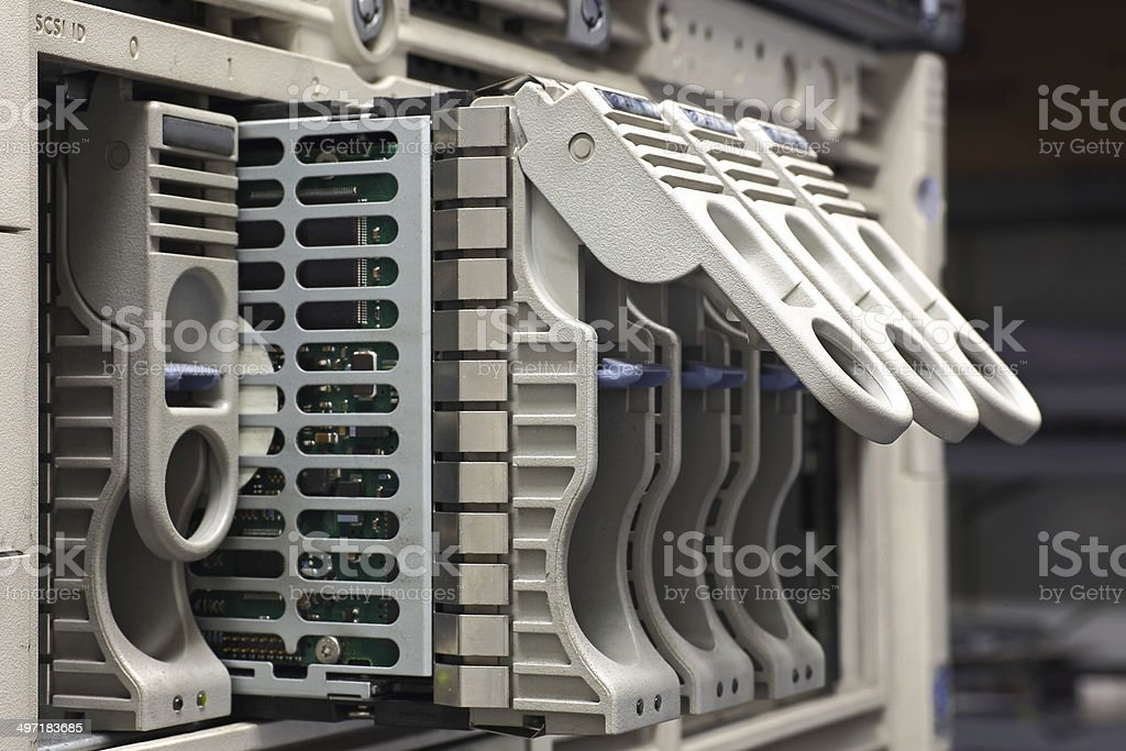 Data Rack royalty-free stock photo