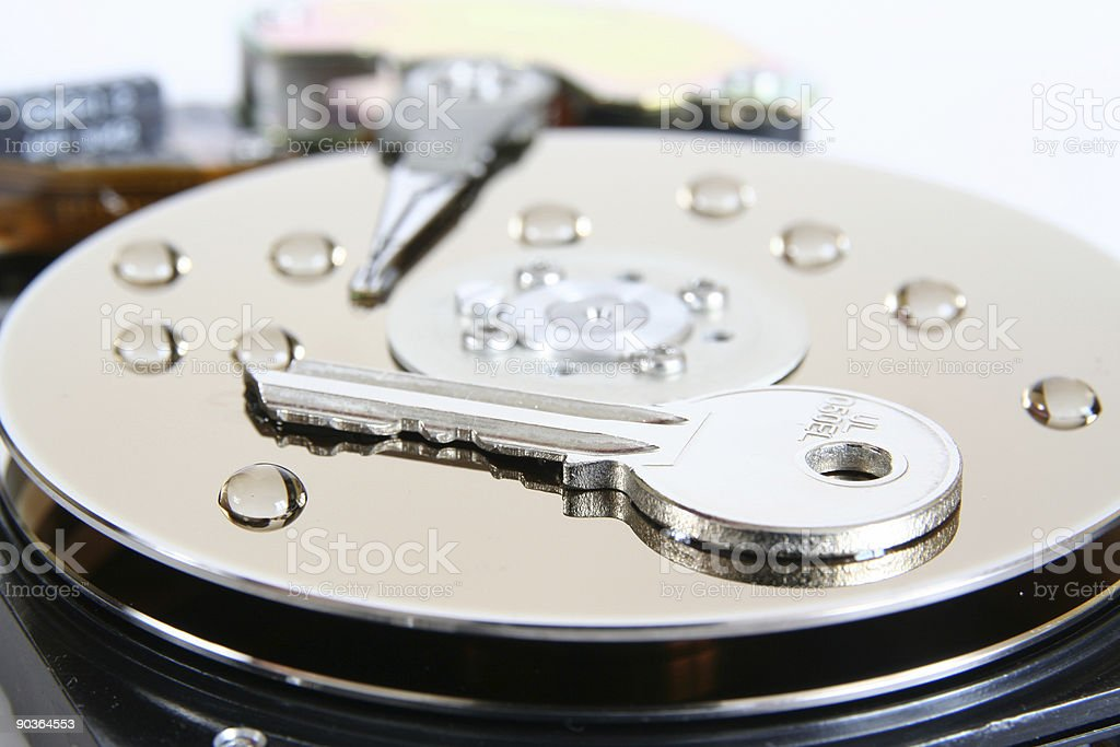 Data security concept royalty-free stock photo