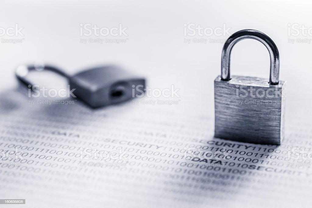 Data security royalty-free stock photo