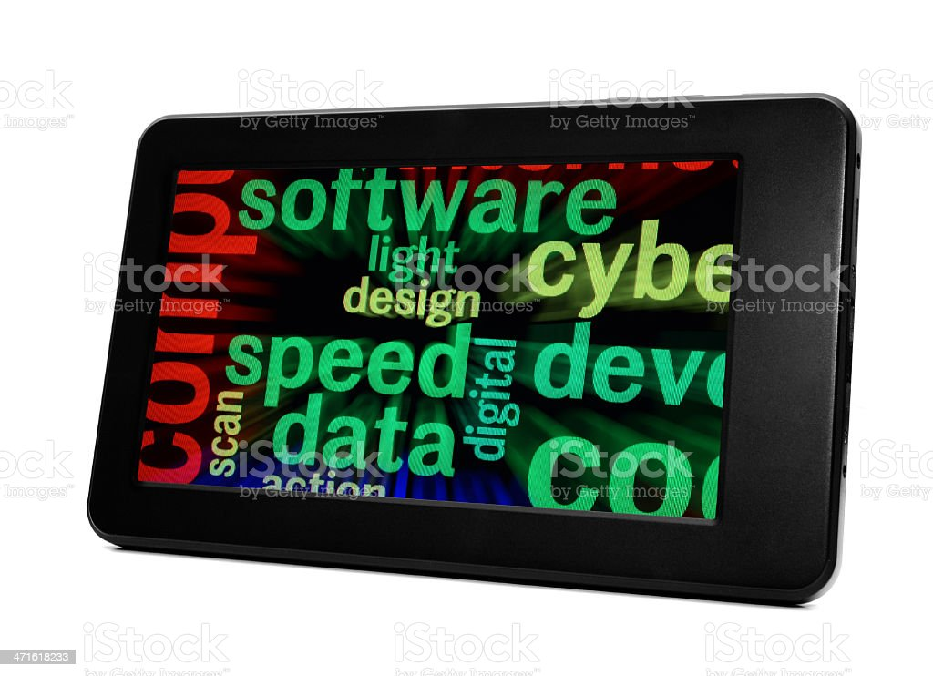 Data speed concept royalty-free stock photo